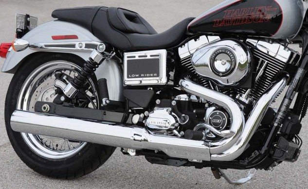 If you need an attitude adjustment, the Low Rider's Twin Cam 103 would be happy to oblige.