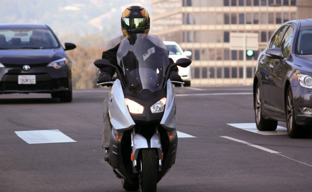 2014 BMW C600 Sport Action Front
