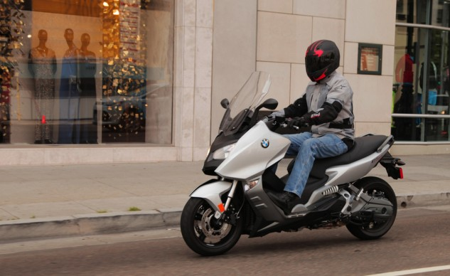 2014 BMW C600 Sport Action Left