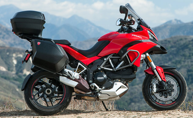 2014 Ducati Multistrada Granturismo Feature