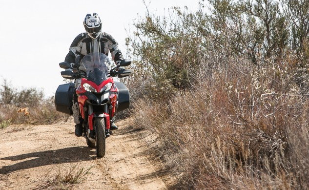 2014 Ducati Multistrada Granturismo Off-Road Action