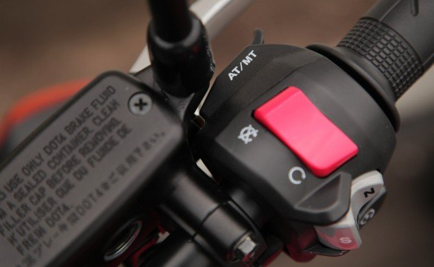 2014 Honda NC700X Upshift Button