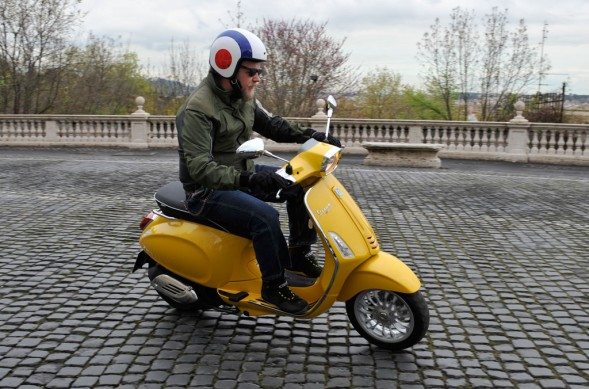 2014 Vespa Sprint 125 Action Cobblestones