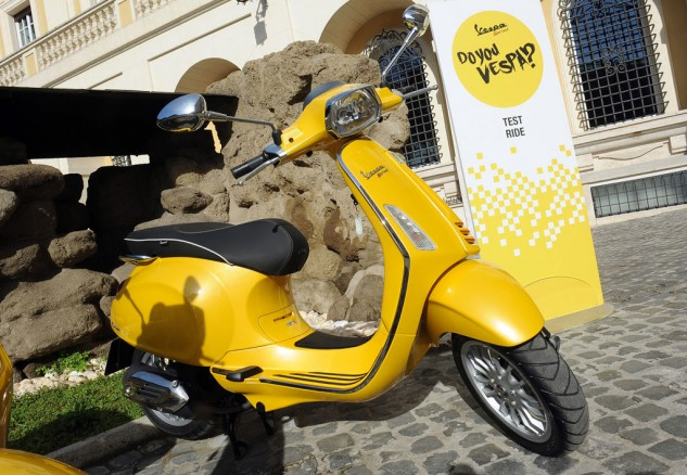 2014 Vespa Sprint 125 Beauty