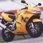 1998 Honda CBR900RR Yellow static