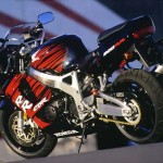 1998 Honda CBR900RR black red static