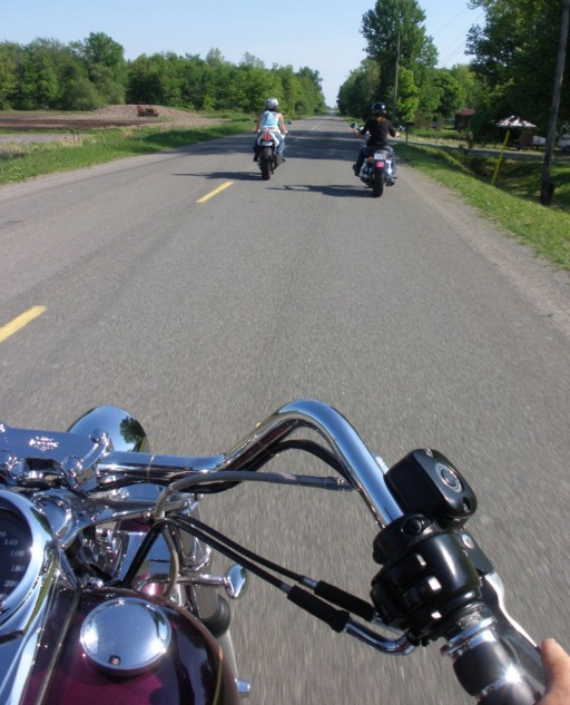 Family Motorcycle Ride Ontario