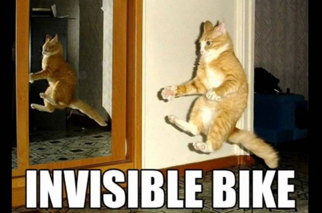 Invisible Motorcycle