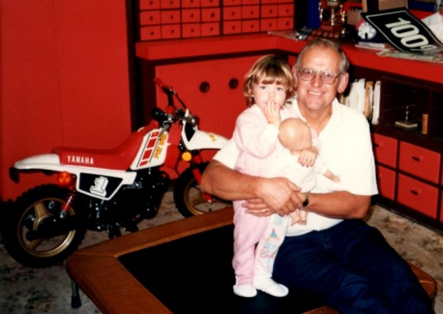 Motorcycling with Grandpa