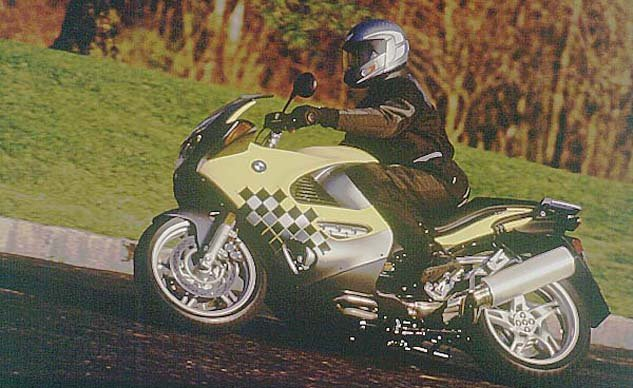 Church Of MO - First Impression: 1998 BMW K1200RS