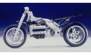BMW K1200RS naked