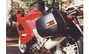 BMW K1200RS luggage