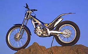Bultaco Sherco left static