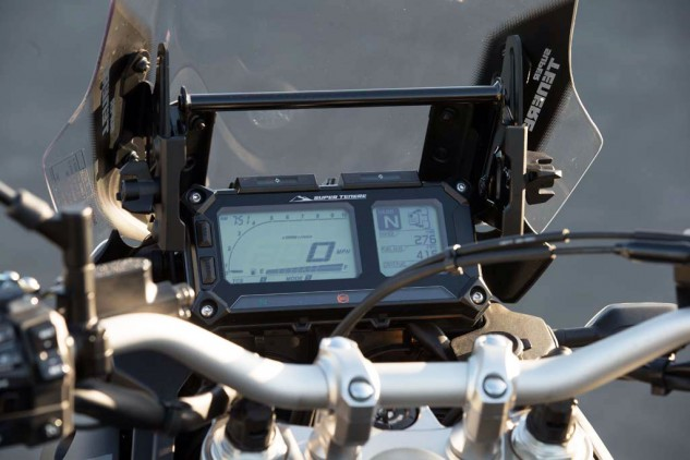 2014 Yamaha Super Tenere display