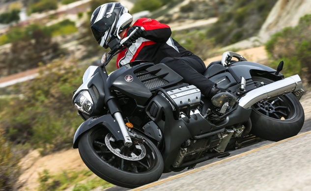 2014 Honda Gold Wing Valkyrie Review  U2013 First Ride