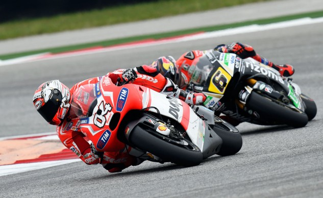 Andrea Dovizioso's podium was a pleasant surprise for Ducati. A couple more however, and Ducati riders will loose some of their extra fuel advantage.