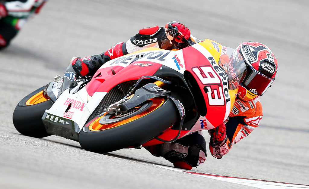 MotoGP 2014 Circuit of the Americas Results
