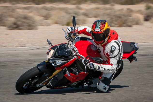 """If you desired to actually go club racing on a naked streetbike, this would be the one to pick seeing as its motor's displacement would be legal for any """"open"""" class."""