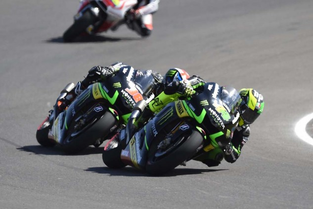 Tech 3 teammates Bradley Smith and Pol Espargaro have been evenly matched all season.