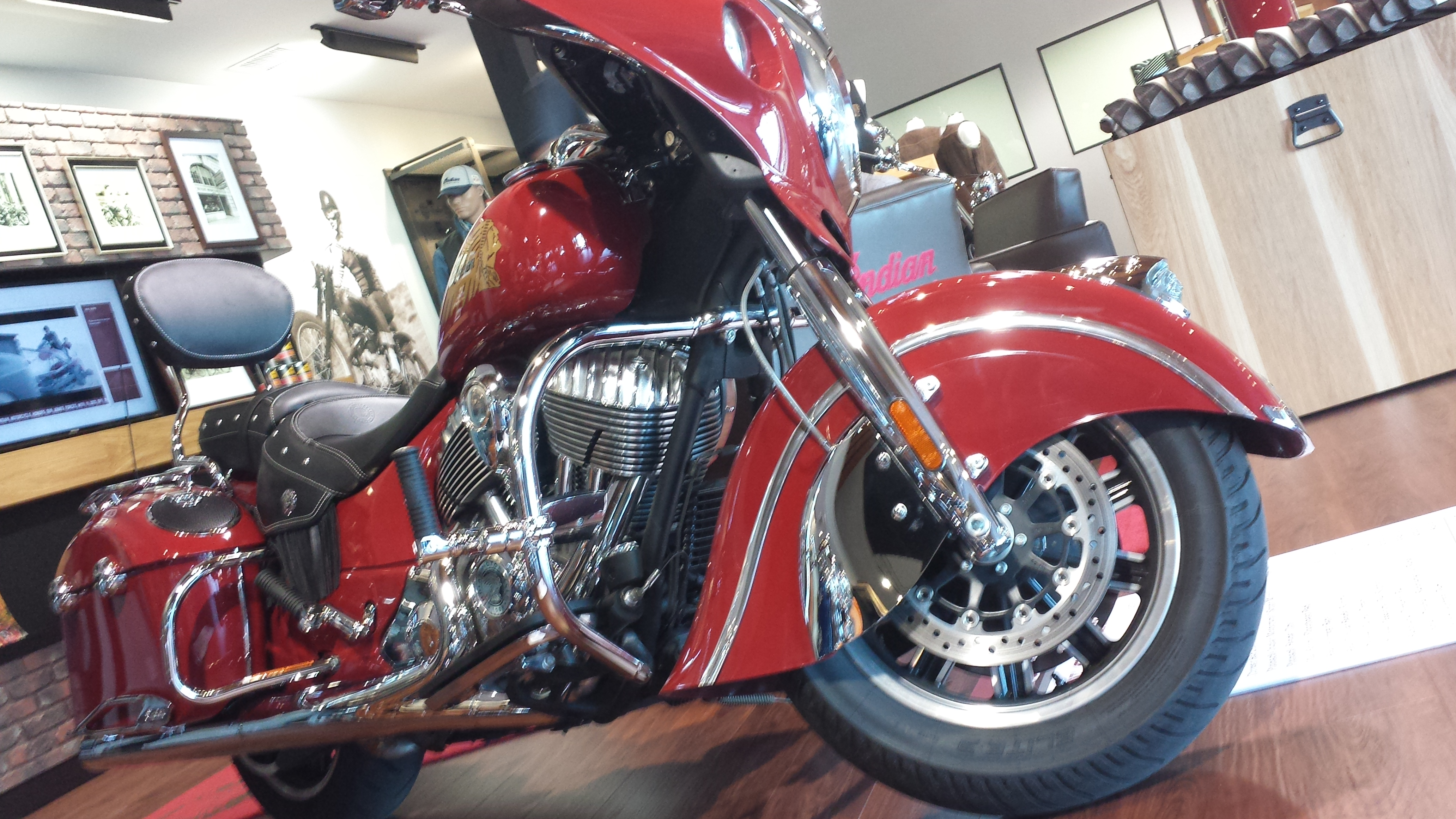 motorcycle indian chieftain accessories apparel displays audio fairing system
