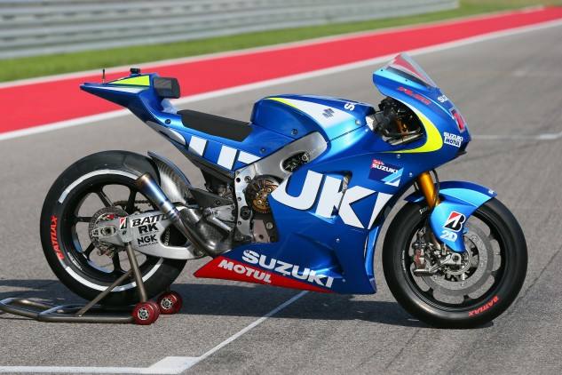 Suzuki MotoGP side profile