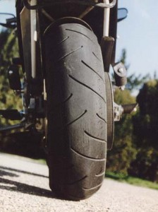 Buell S2 Thunderbolt rear tire