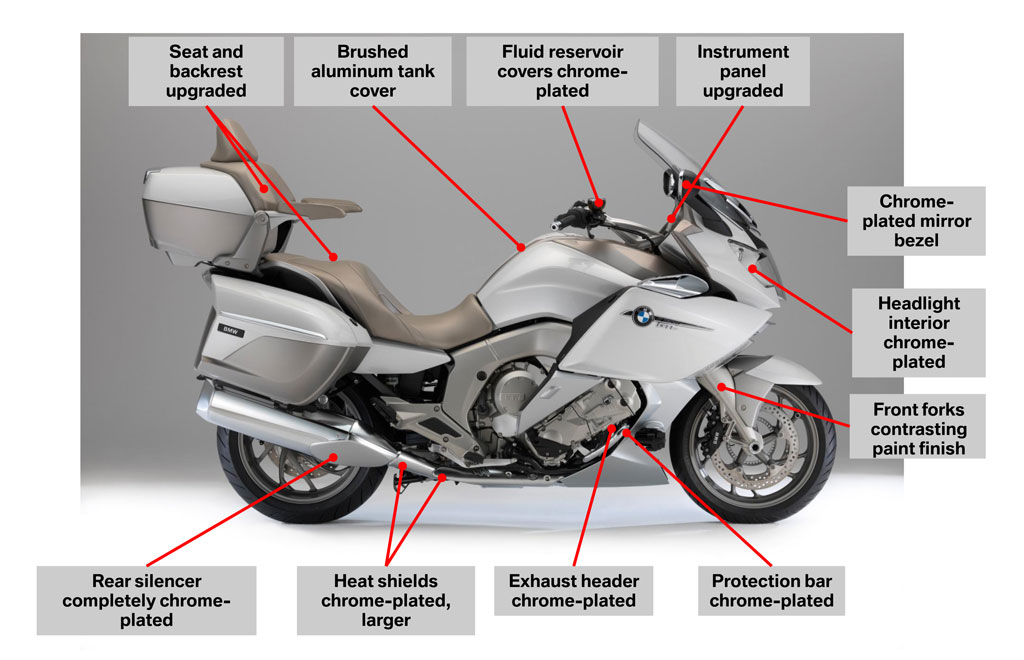 2014 bmw k1600gtl exclusive review