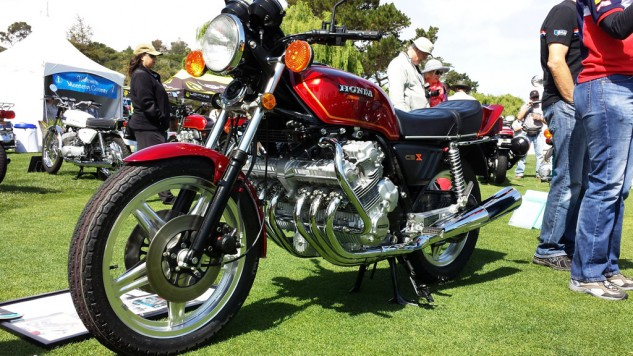 Honda gave the world six-cylinder power in the iconic CBX. BMW made it better, even if its engine isn't so proudly on display.