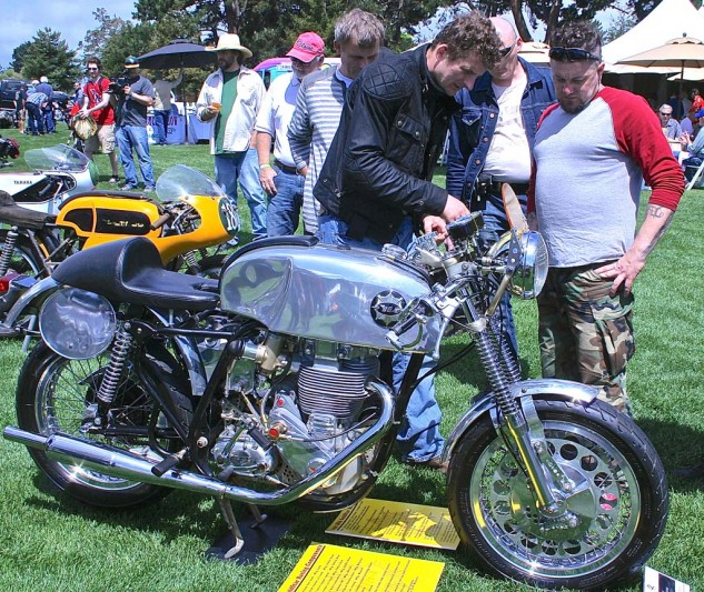 Author's Honorable Mention award goes to the 1961 BSA Gold Star owned by Craig Stegall of Vancouver, Wash. Delicious.