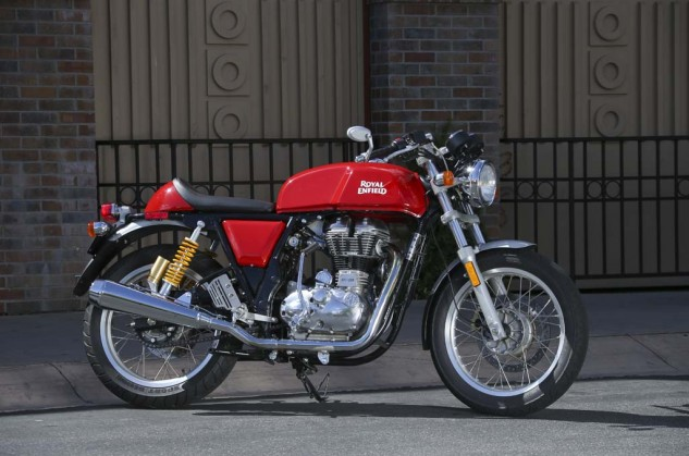 "At one time, the Continental GT was heralded as ""Britain's fastest 250."" The modern version has a similar cafe racer style, but it won't win any performance awards."