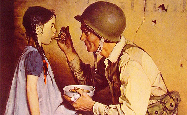 052314-memorial-day-Norman-Rockwell-GI-feeding-child-f