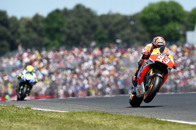 After five rounds, no one has been able to unseat Marc Marquez so far - including Marc Marquez.