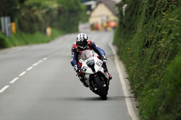 Michael Dunlop was the star of last year's TT, winning four races and falling just 10 seconds short of winning a fifth. The Dunlop family has a history of success at the Isle of Man TT, led by Micahel's late uncle, Joey Dunlop, who holds the record of 26 overall TT race wins. Photo by IOMTT.com.
