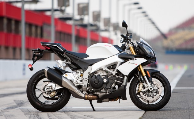 Aprilia Tuono Beauty Shot
