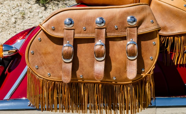 Indian Chief Vintage Saddlebag