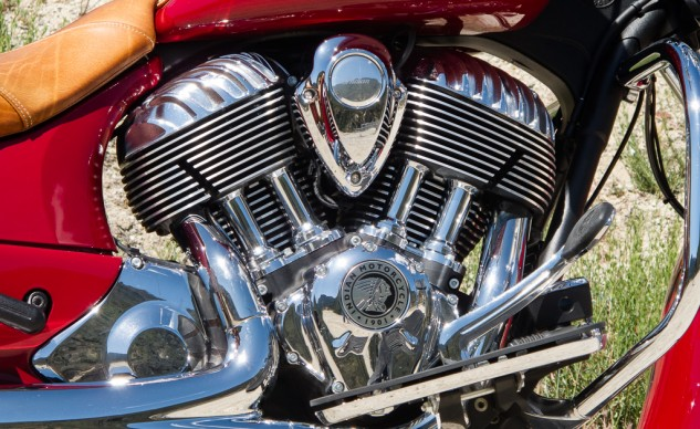 Indian Chief Vintage Engine