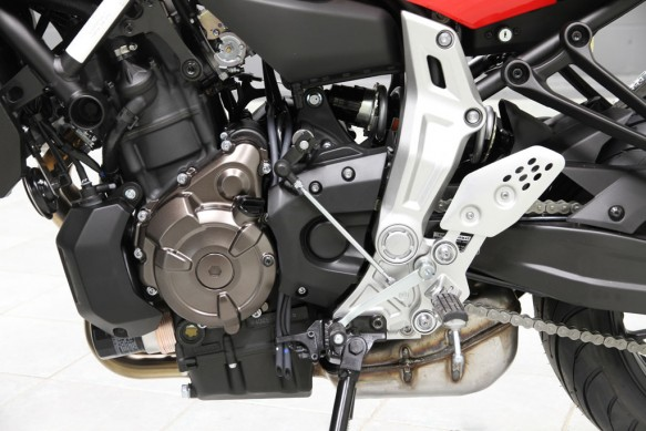 2015 Yamaha FZ-07 Engine