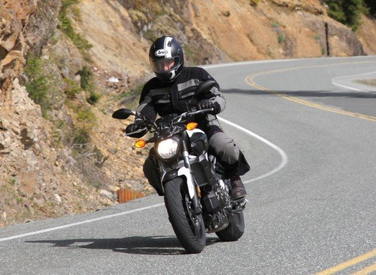 2015 Yamaha FZ-07 Action Front
