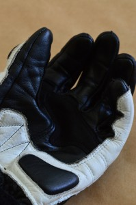 RS Taichi GP-X Glove curved finger and extra protection