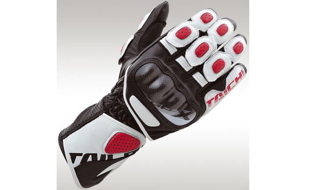 GPX red white back AGV Sport Mercury Glove
