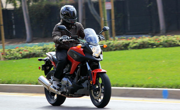 The Honda NC700X represents affordable two-wheeling, suitable for almost any kind of riding.