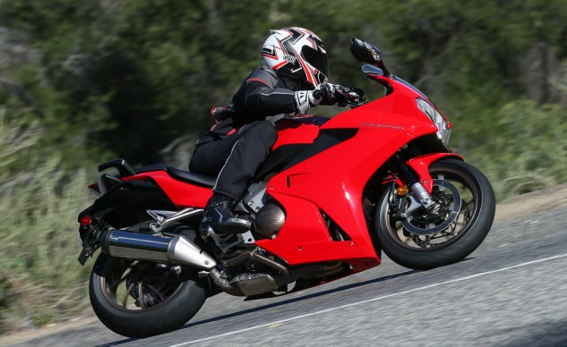 The Interceptor provides ample performance for sport-riding tasks.