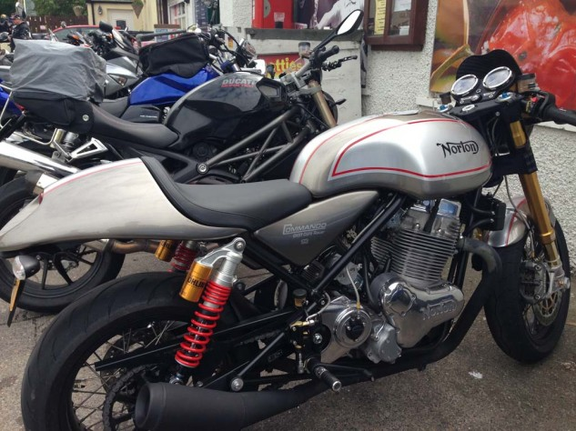New Norton Commando 951 Café Racer.