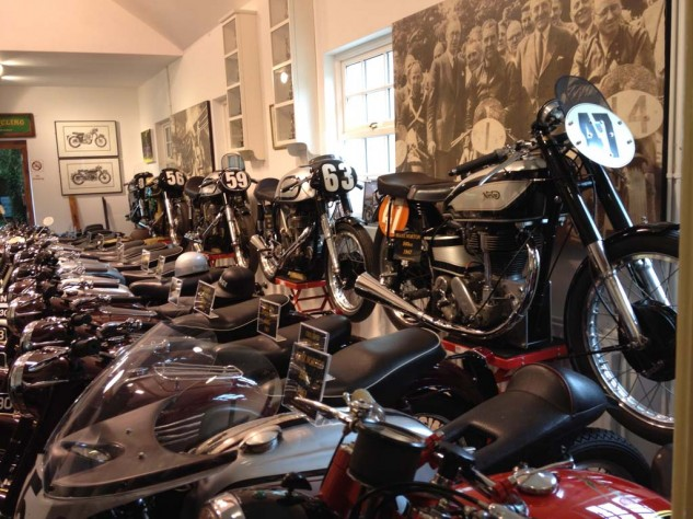Bikes from the A.R.E. Classic bike collection, Kirk Michael, IoM