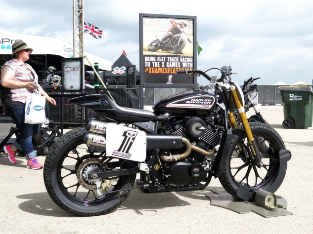 Whichever marketing genius at H-D decided to throw in with the X Games deserves a medal. They're pushing to make flat-track racing a new XG discipline, which really could breathe new life into the sport.