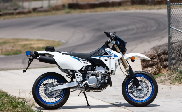 And then there was one: the Suzuki DR-Z400SM is the lone surviving production supermoto offered on these shores.