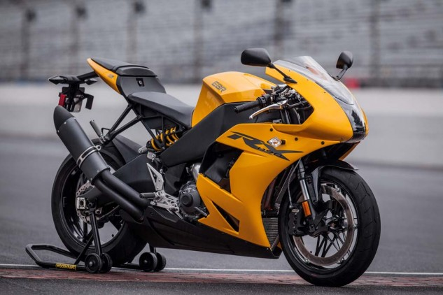 No longer will America simply be known for its cruisers. With the EBR 1190RX, the USA has entered the sportbike arena, guns ablazing.