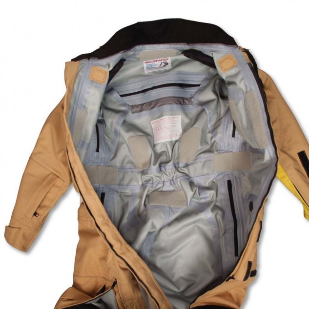 No more inner liner lets air go straight out the vents; Gore-Tex and Cordura keep water and abrasions out.