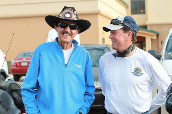 NASCAR legends Richard Petty and Harry Gant (both now retired after great careers) have been regulars throughout the Ride's 20-year history. Petty did most of the first 10 or 12 before taking off to tend to his two NASCAR teams. Gant is credited with doing all 20 Rides, even though he was injured in a highway wreck on his way to the 2011 start point in Lake Placid, N.Y.