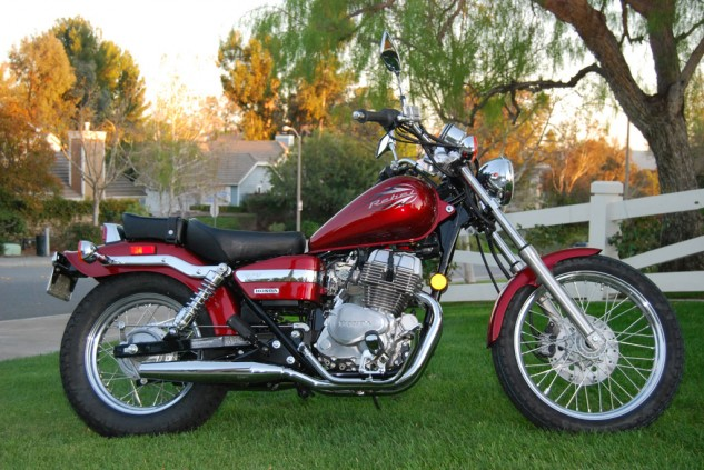 Like the proverbial honey badger, this 2012 Rebel doesn't care if you park it on the lawn.